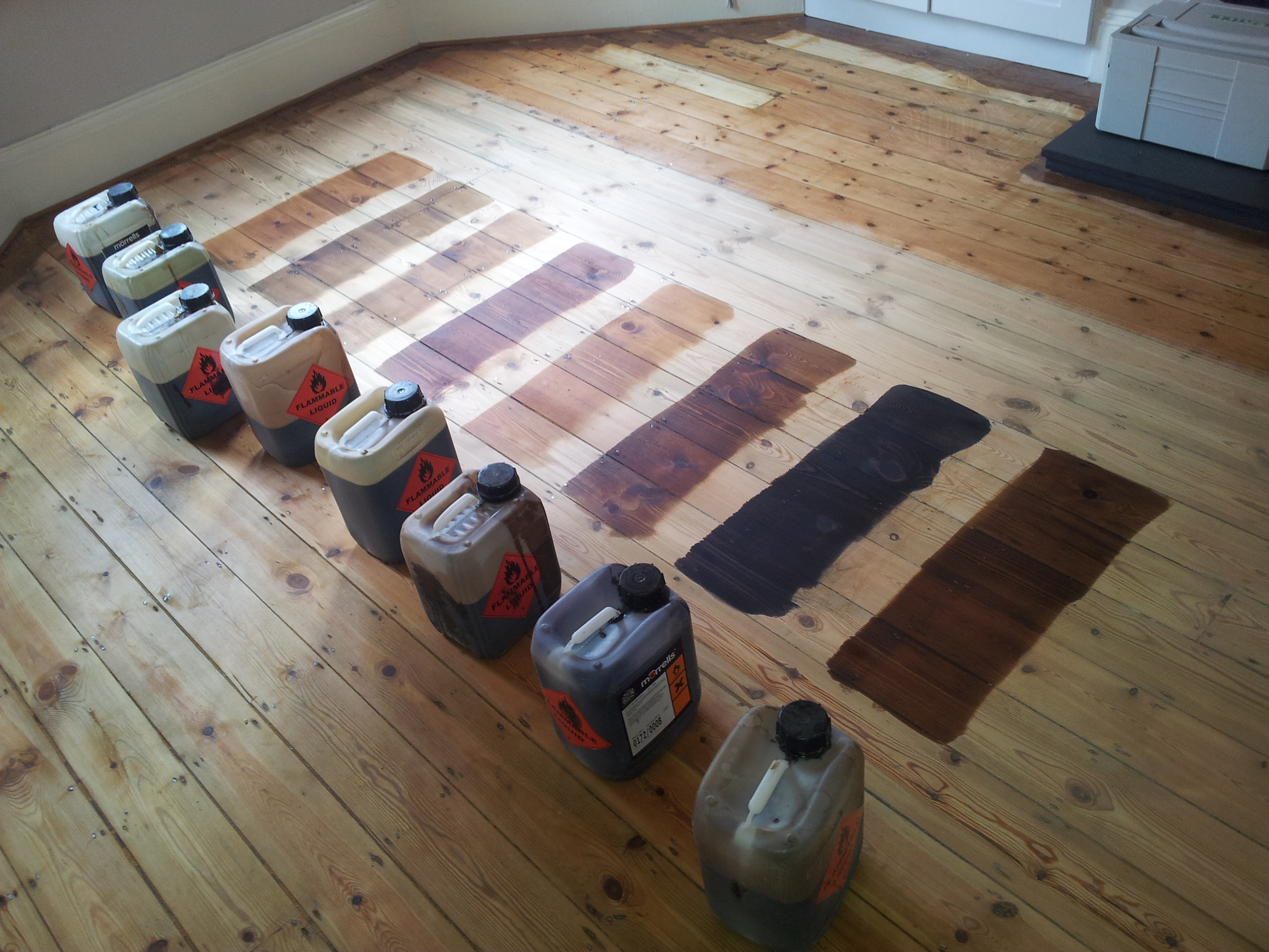 Floor Staining Sanding City Service